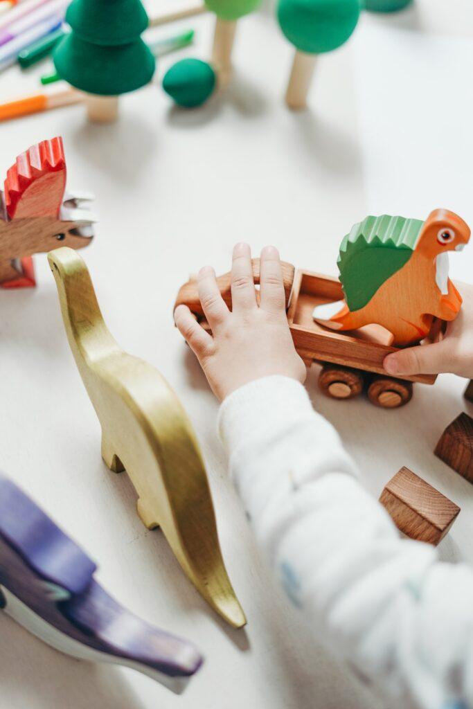 giocattoli bambini green giochi toy sharing riutilizzare zero rifiuti